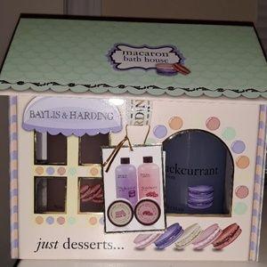 Macaron Bath House Gift Set